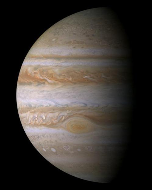 Cassini Image of Jupiter
