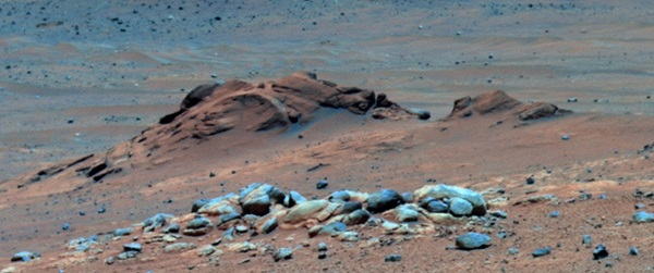 Comanche outcrop on Mars