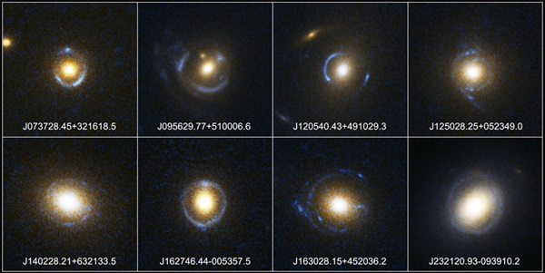 New Einstein rings