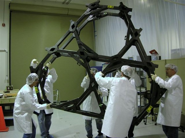 Webb telescope backplane