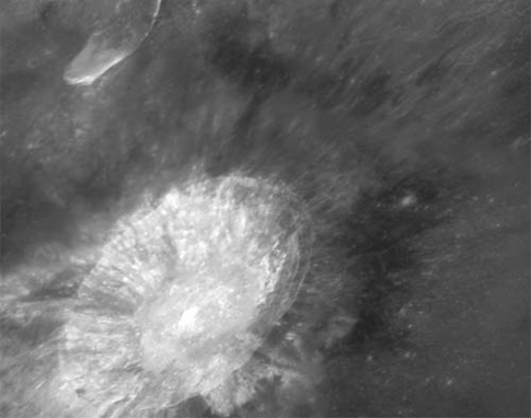 Aristarchus crater and nearby Schroter's Valley rille