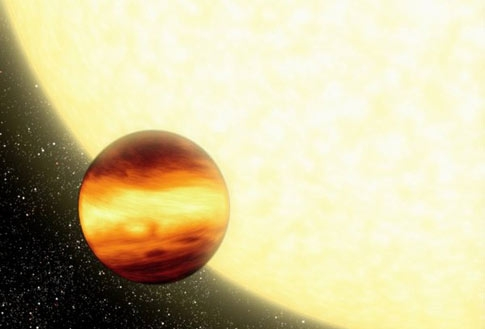Gas-giant planet steady temperatures