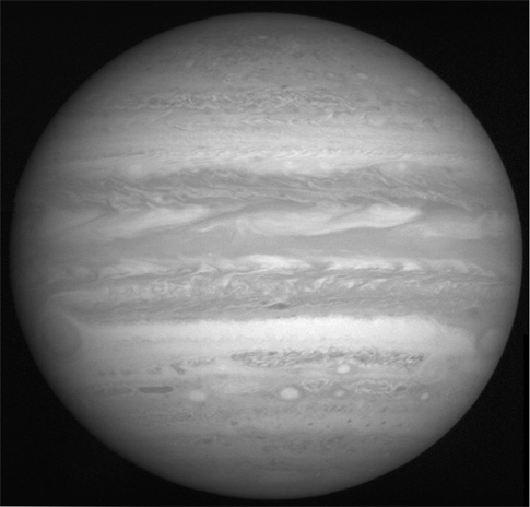 Jupiter from New Horizons, Feb. 10, 2007