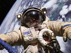 Astronaut in space`