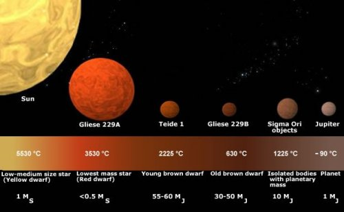 The Scale of Brown Dwarfs