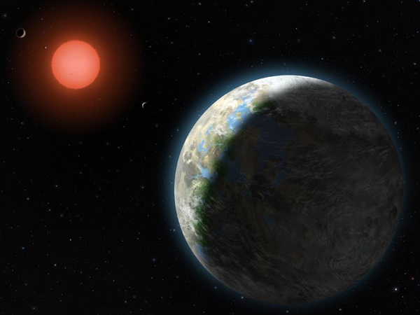 Gliese 581g habitable exoplanet