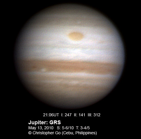 Jupiter Southern Equatorial Belt vanishes