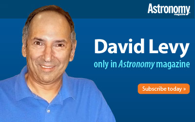David Levy in Astronomy magazine
