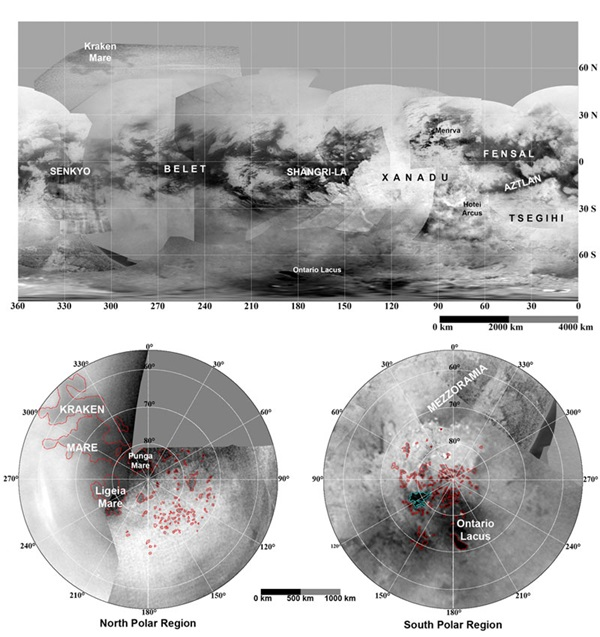 Maps of Titan