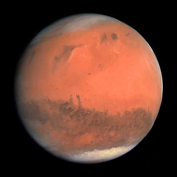 January 2010 Red Planet