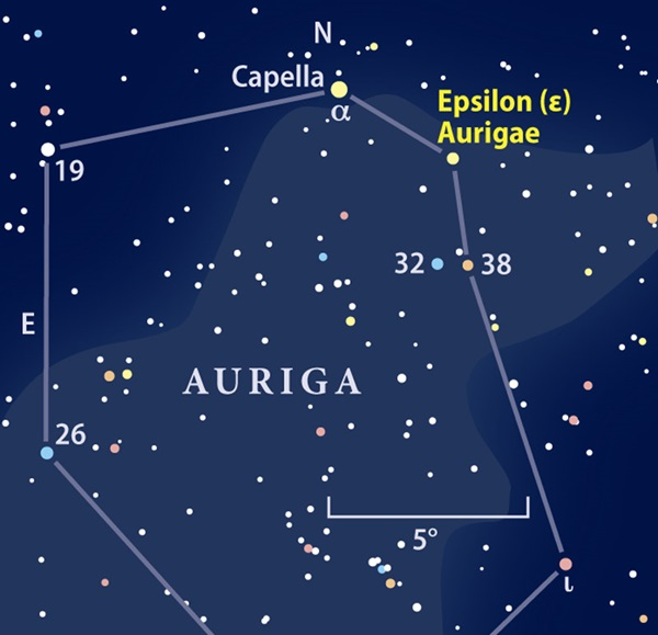 Epsilon Aurigae finder chart