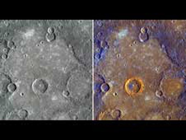 Mercury high-resolution color images