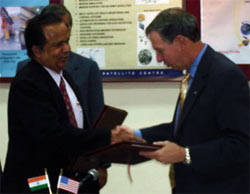 NASA to work with India