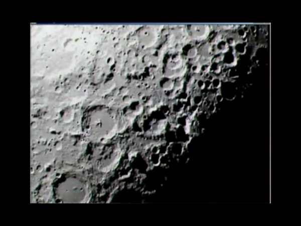 LCROSS view of the Moon