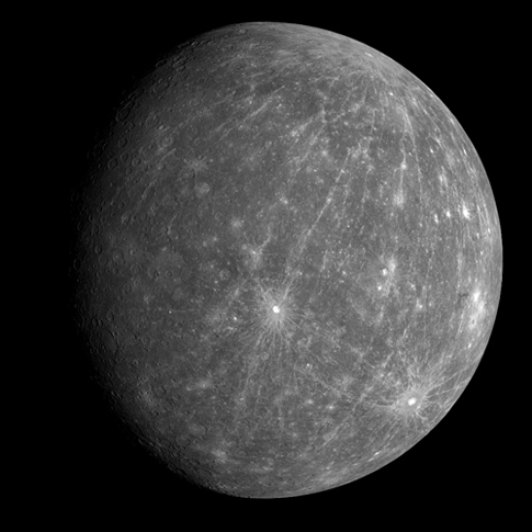 Mercury from MESSENGER second flyby