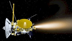 Cassini adjusts orbit