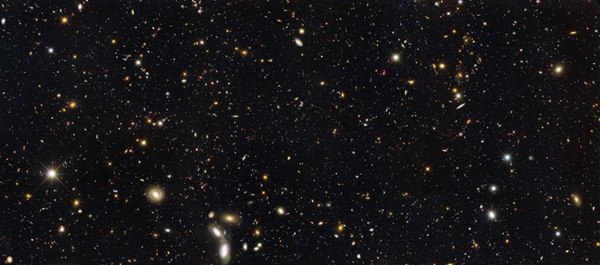 Hubble galaxy view