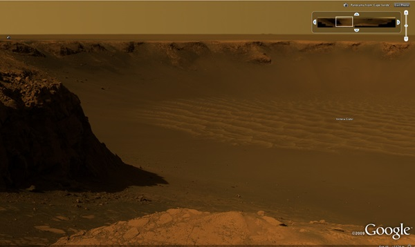 Opportunity Rover Victoria Crater