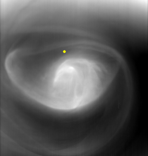 hurricane on Venus