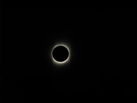 July 22 total solar eclipse image