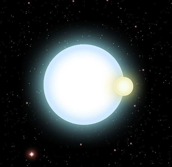 Binary star NLTT 11748