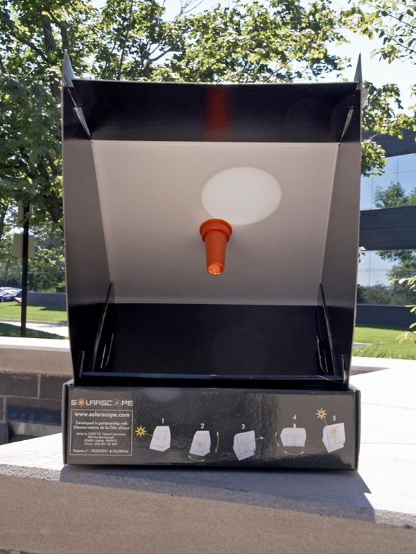Solarscope sun viewer