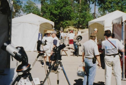 Lowell Star Party marketplace