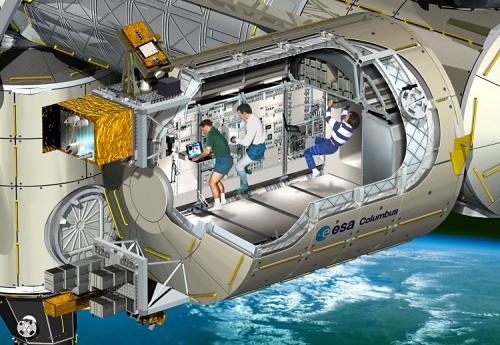 ESA's Columbus module for ISS