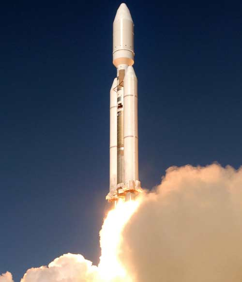 The last Titan rocket launch