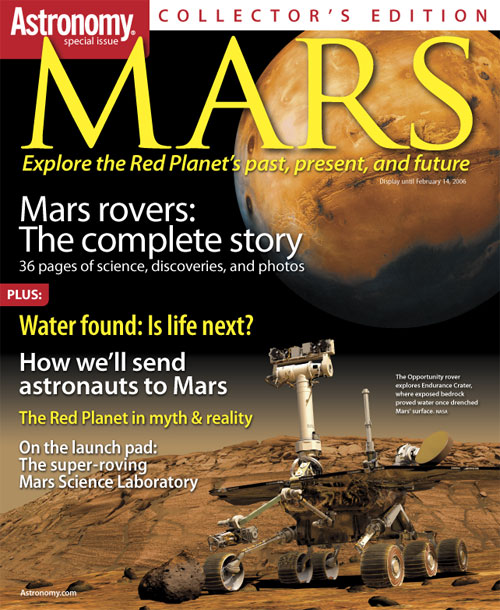 <i>Astronomy</i> magazine's <i>Mars</i> publication