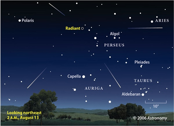 2006 Perseid meteor shower