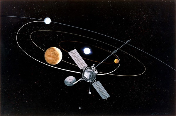 Mariner_10_gravitational_slingshot