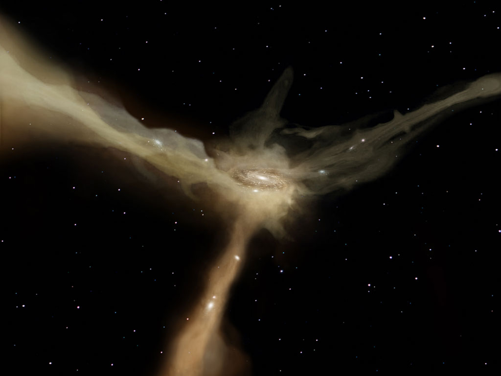 """Hubble study challenges """"cosmic fireworks"""" as largest driver of galax"""