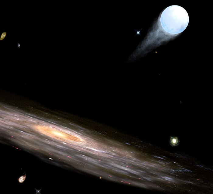 Exiled from the milky way astronomy com