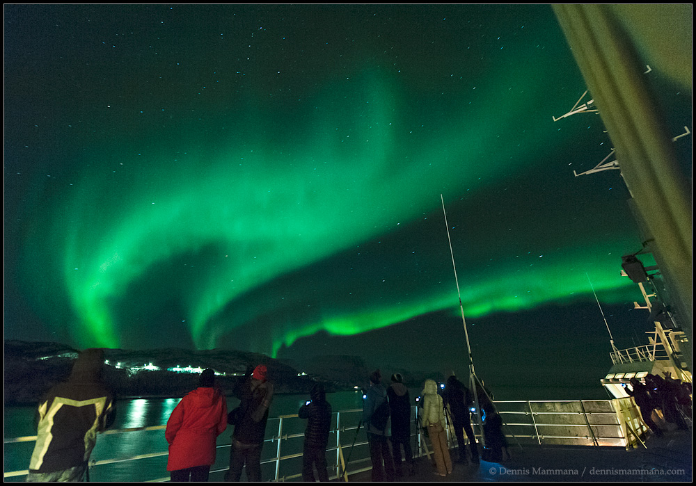 Norway Northern Lights Cruise Astronomy Com