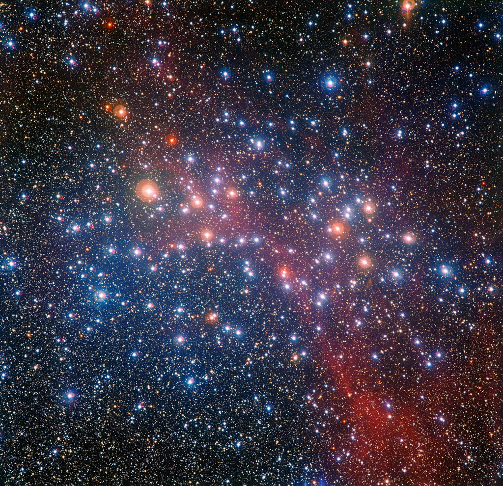 A colorful gathering of middle-aged stars