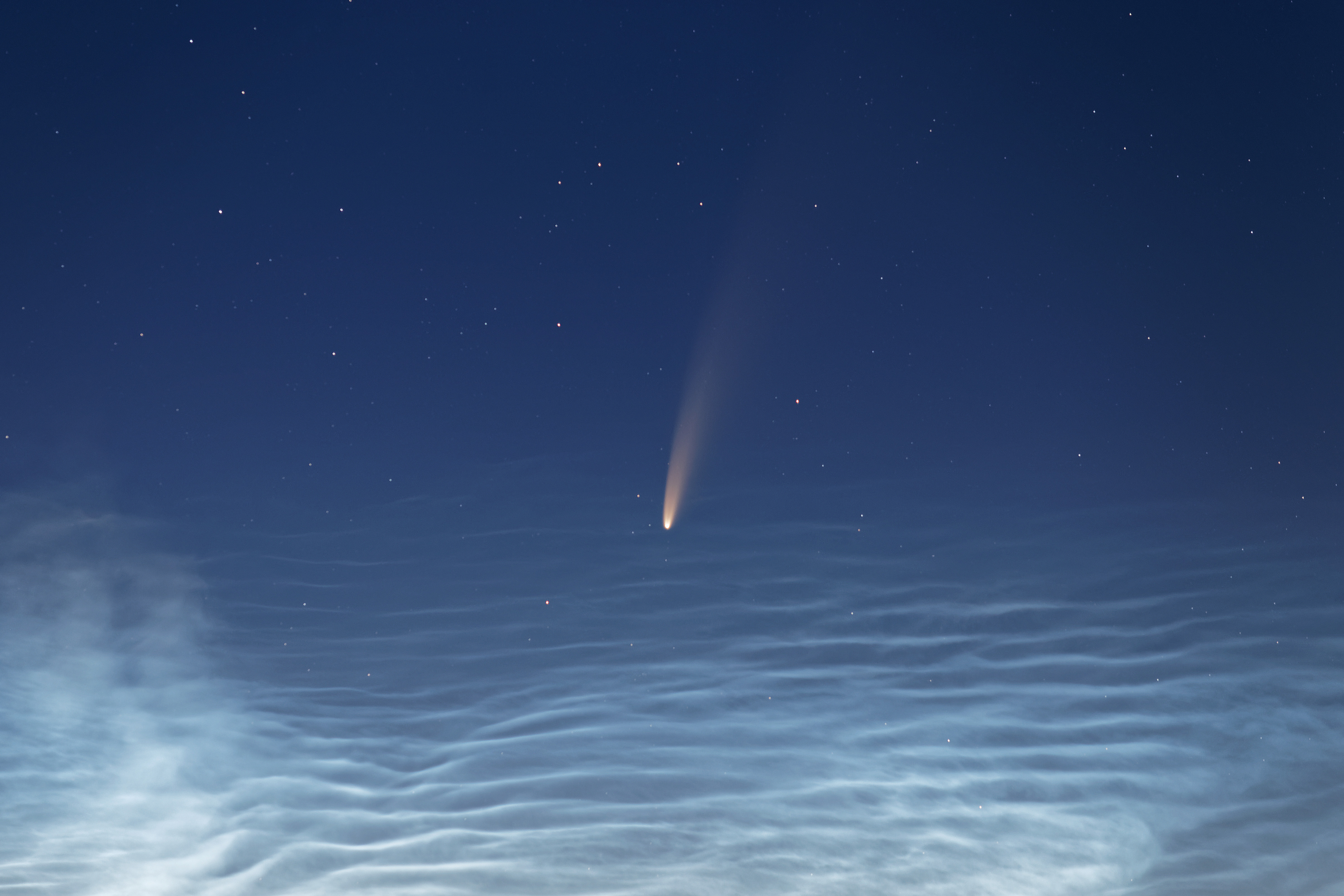 The Sky This Week Comet Neowise Appears At Sunset Astronomy Com