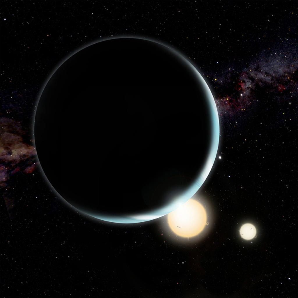 New research shows how circumbinary planets form ...