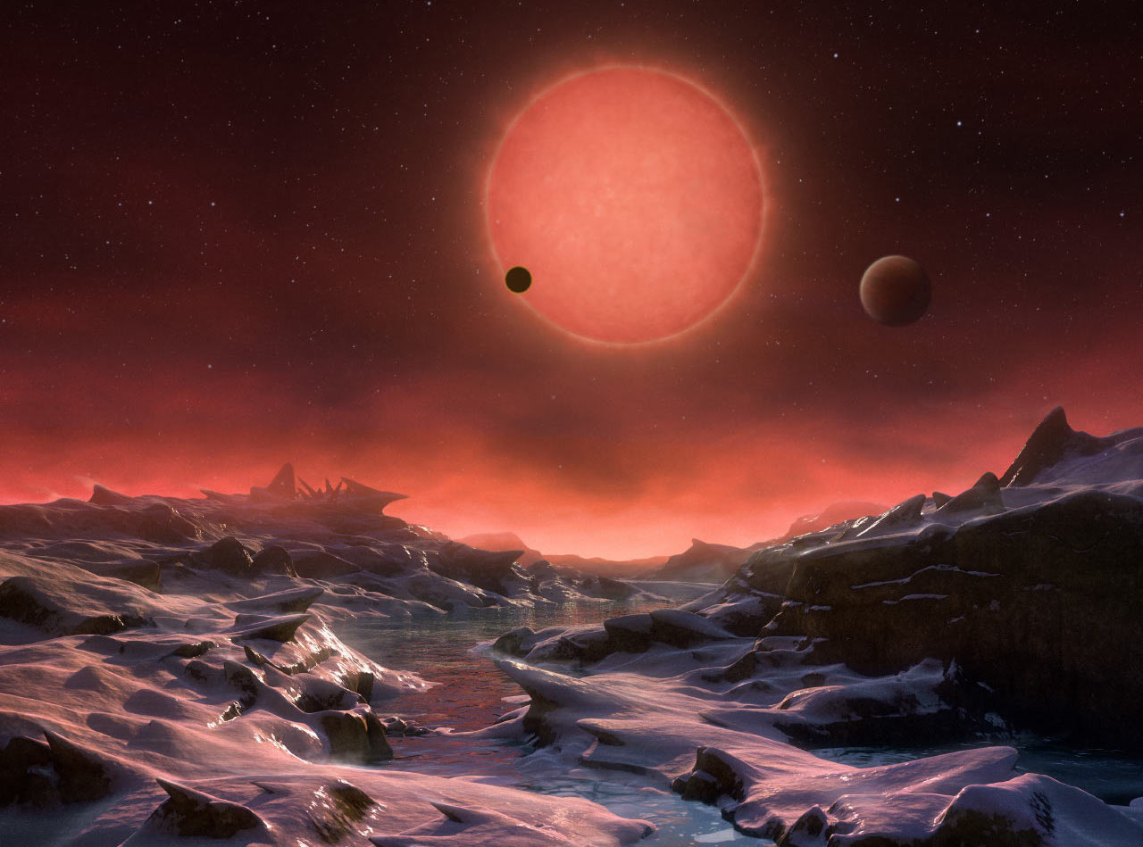 3 Earth-sized exoplanets found just 12 light-years away
