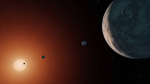 TRAPPIST-1 system may have too much water to support life