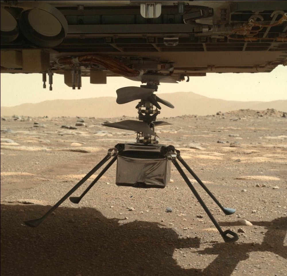 The inside story behind the historic first flight on Mars
