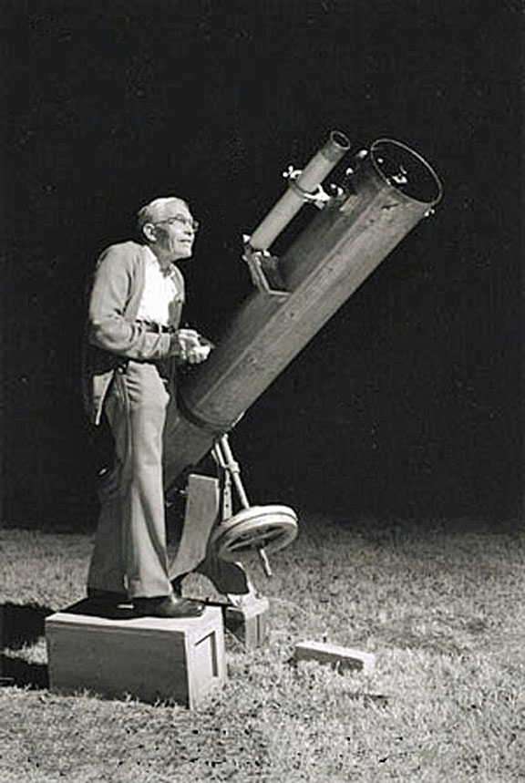 Discoverer of Planet Pluto Clyde Tombaugh