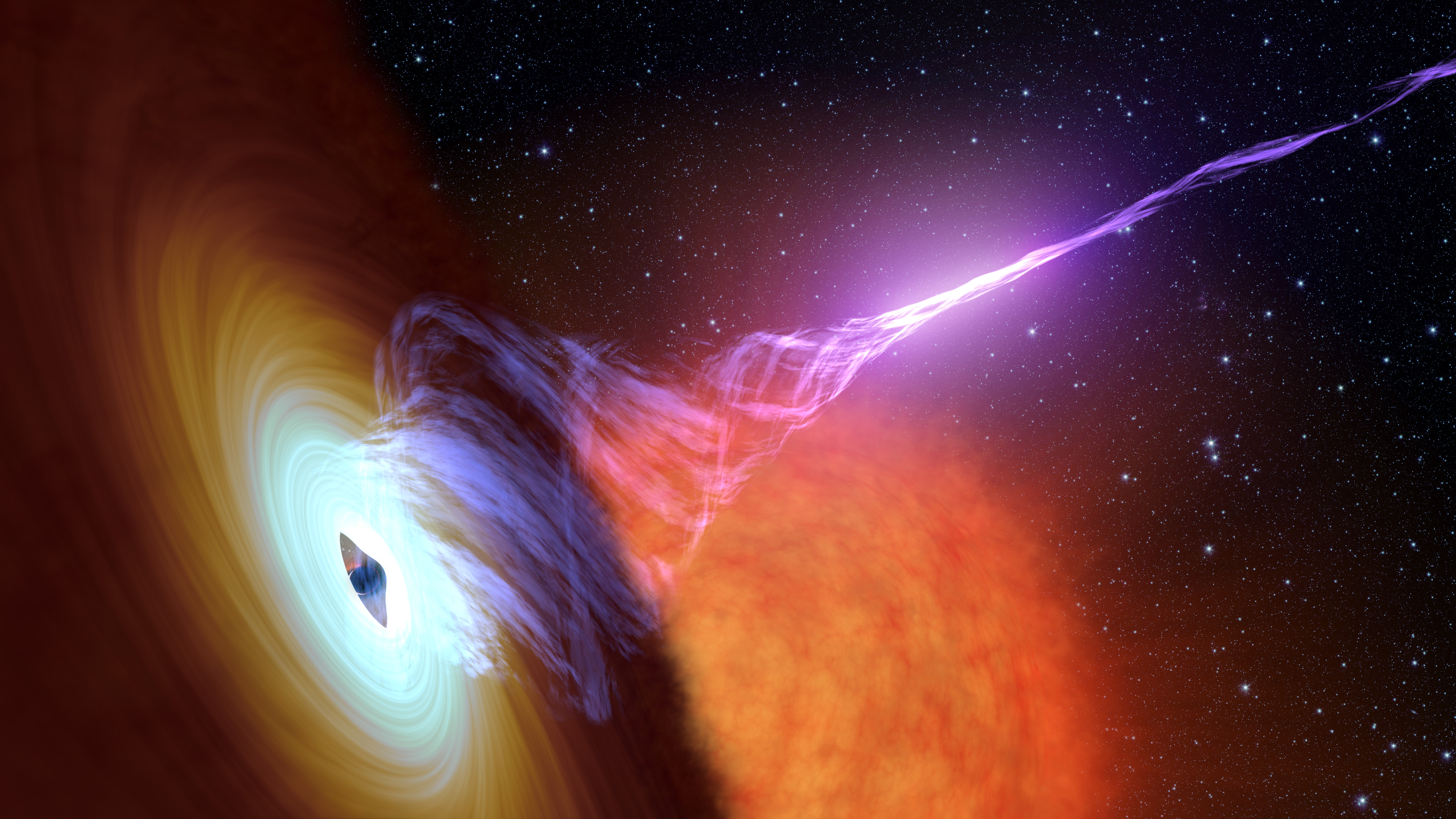 an analysis of the black hole in astronomy