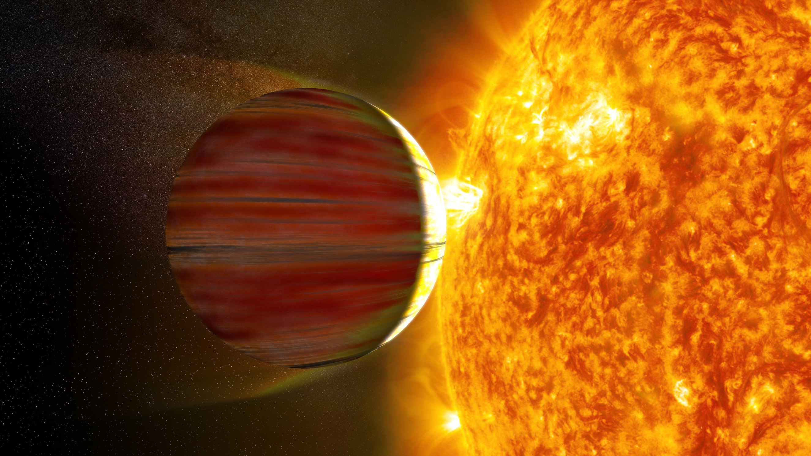 What's the diameter of the largest exoplanet found so far?
