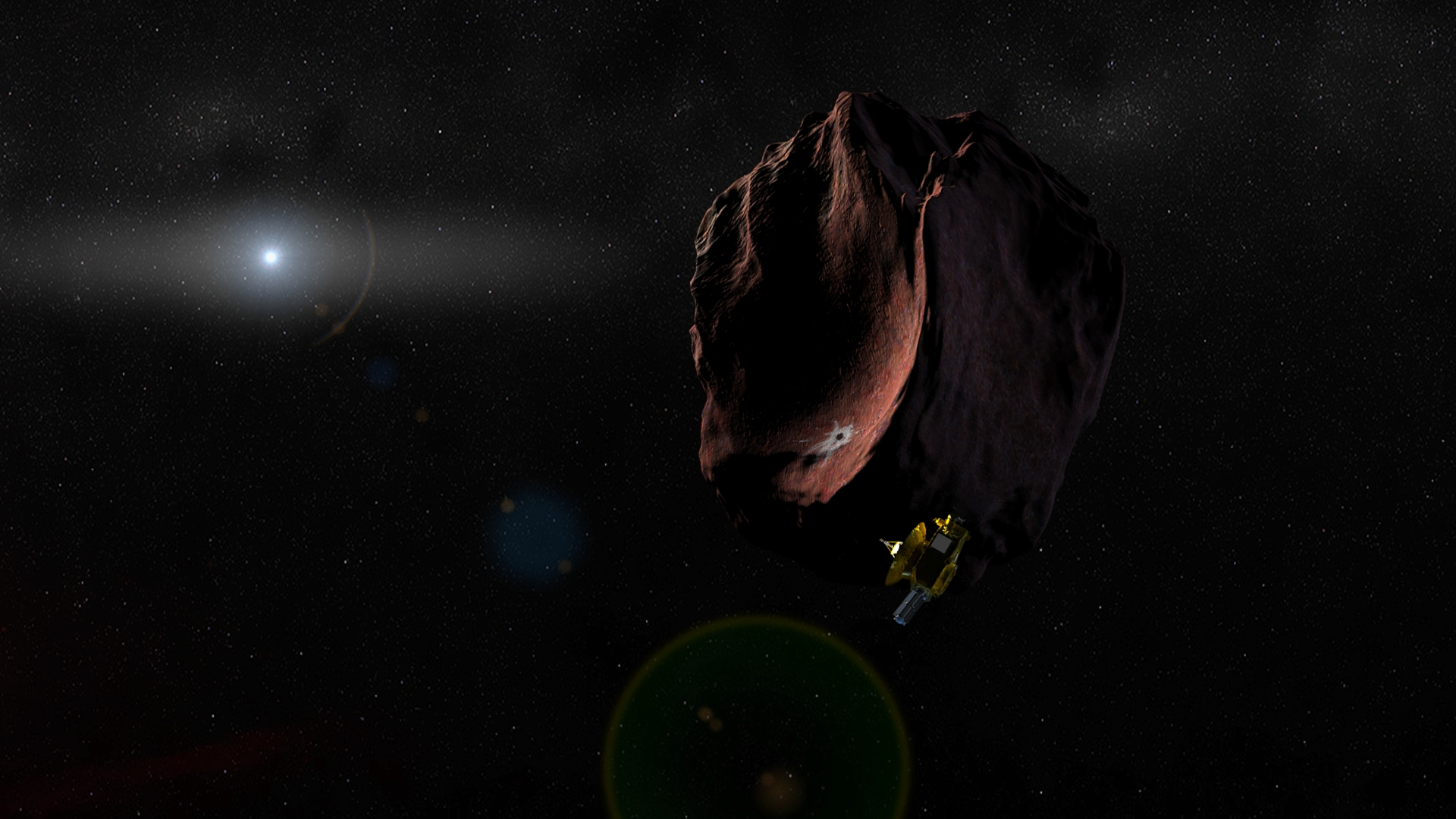 New Horizons' next target: spotted