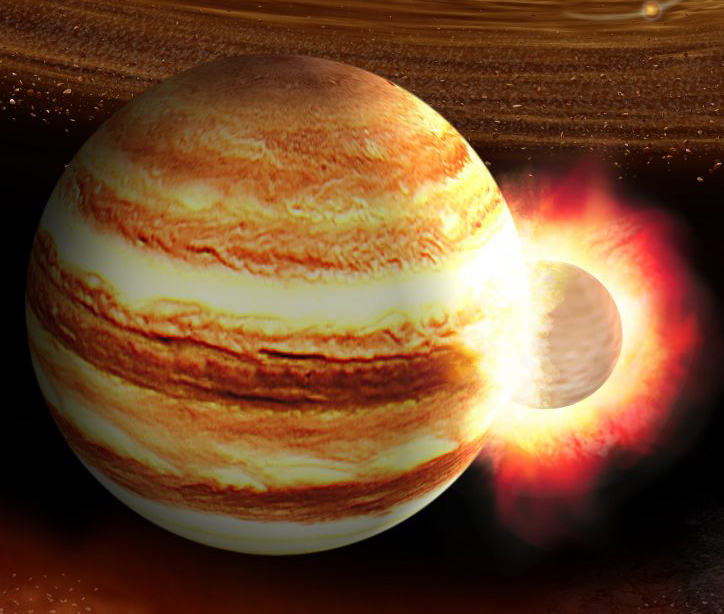 Jupiter May Have Been Hit By A Massive Proto Planet Long Ago Astronomy Com