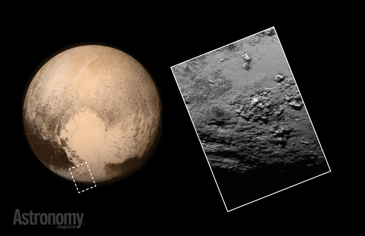 Pluto's bright heart and Charon's dark spot revealed in HD ...
