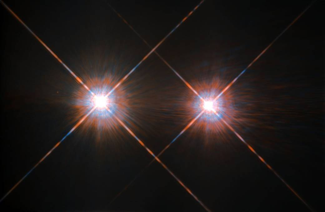 Closest Stars To Earth Map.Alpha Centauri System Could Have Favorable Conditions For Life