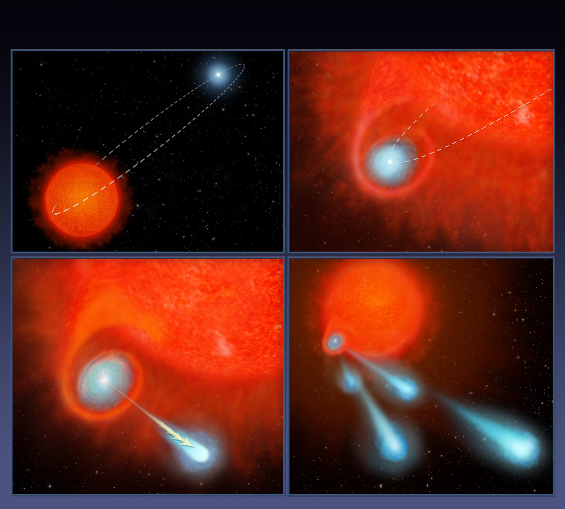 Hubble finds fireballs shooting from star | Astronomy.com