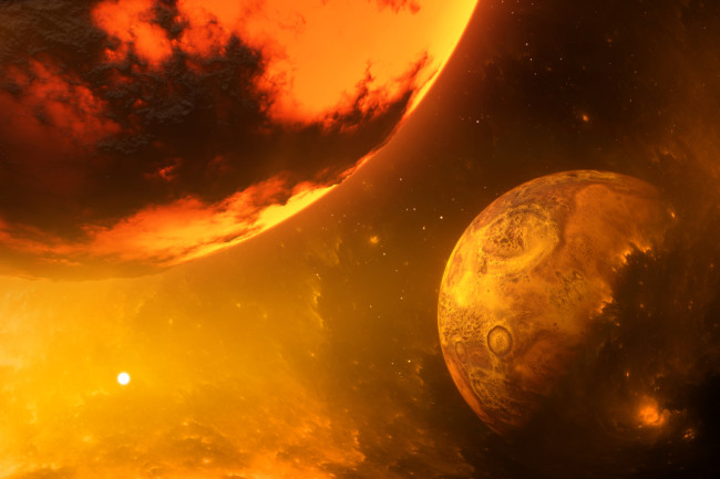 There could be remnants of an ancient planet buried inside Earth